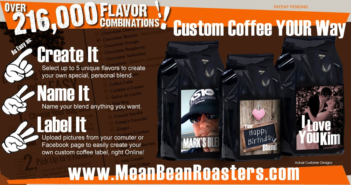 custom coffee blends and gifts online